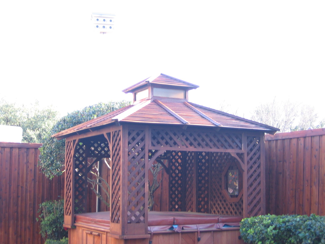 Screen Room 016 - Hot Tub Gazebo - Nashville, TN